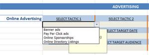 marketing tactic options