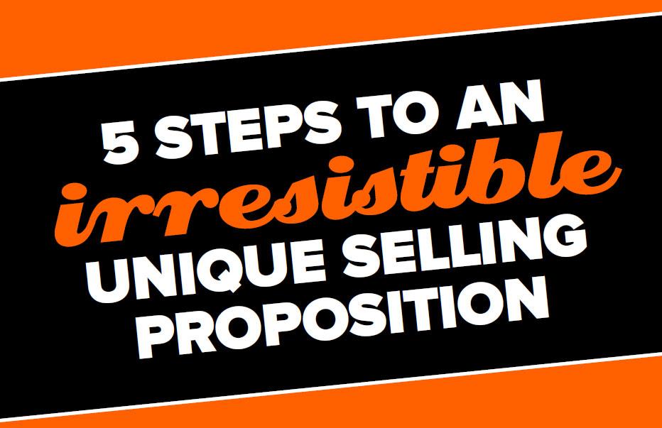 unique selling proposition worksheet
