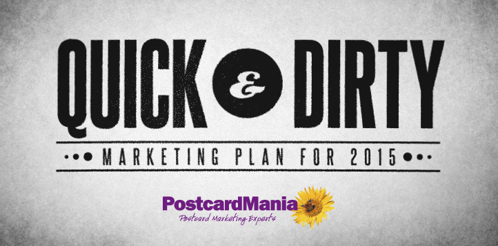 quick and dirty marketing plans