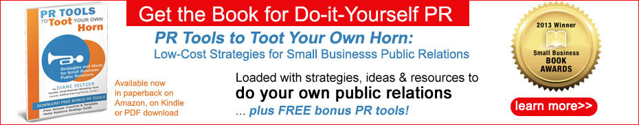 PR Tools to Toot Your Own Horn book