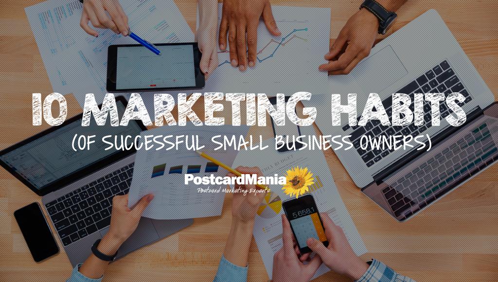 small business marketing habits