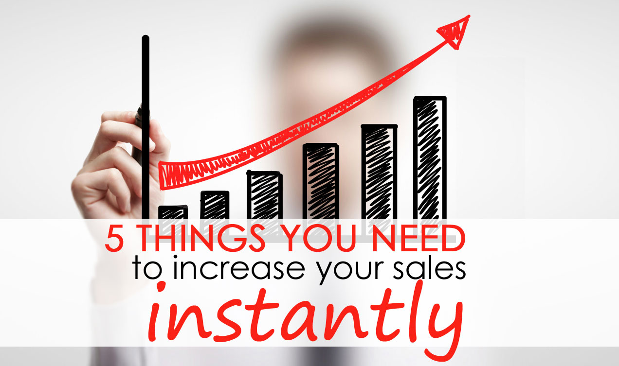 increase sales how to