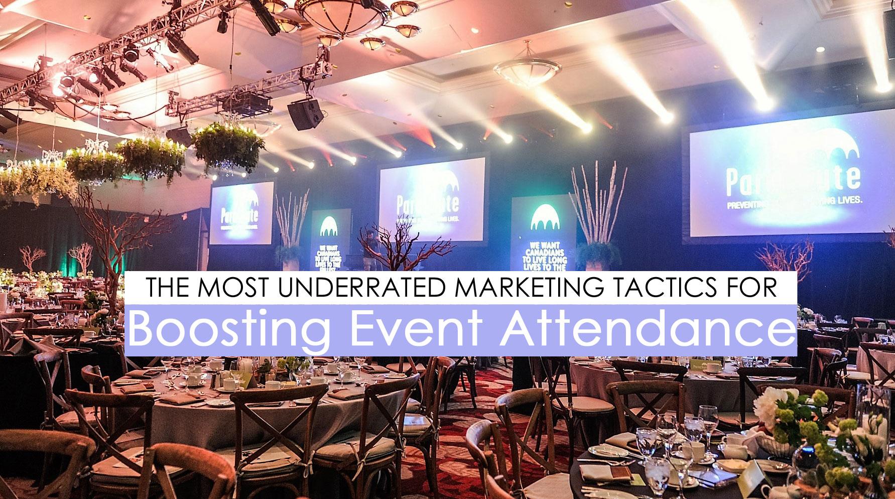 event marketing tactics